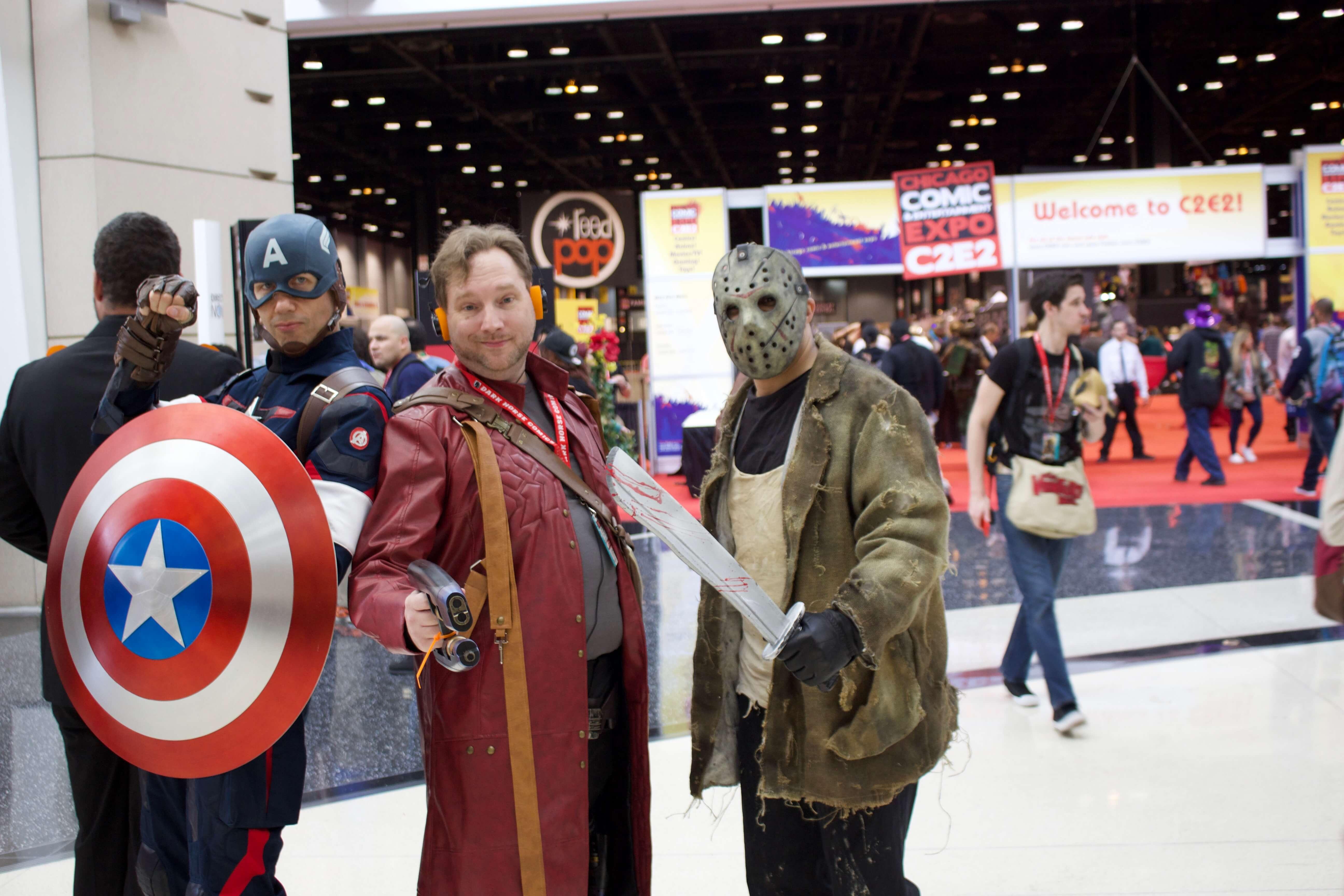Cap, Star Lord, Jason