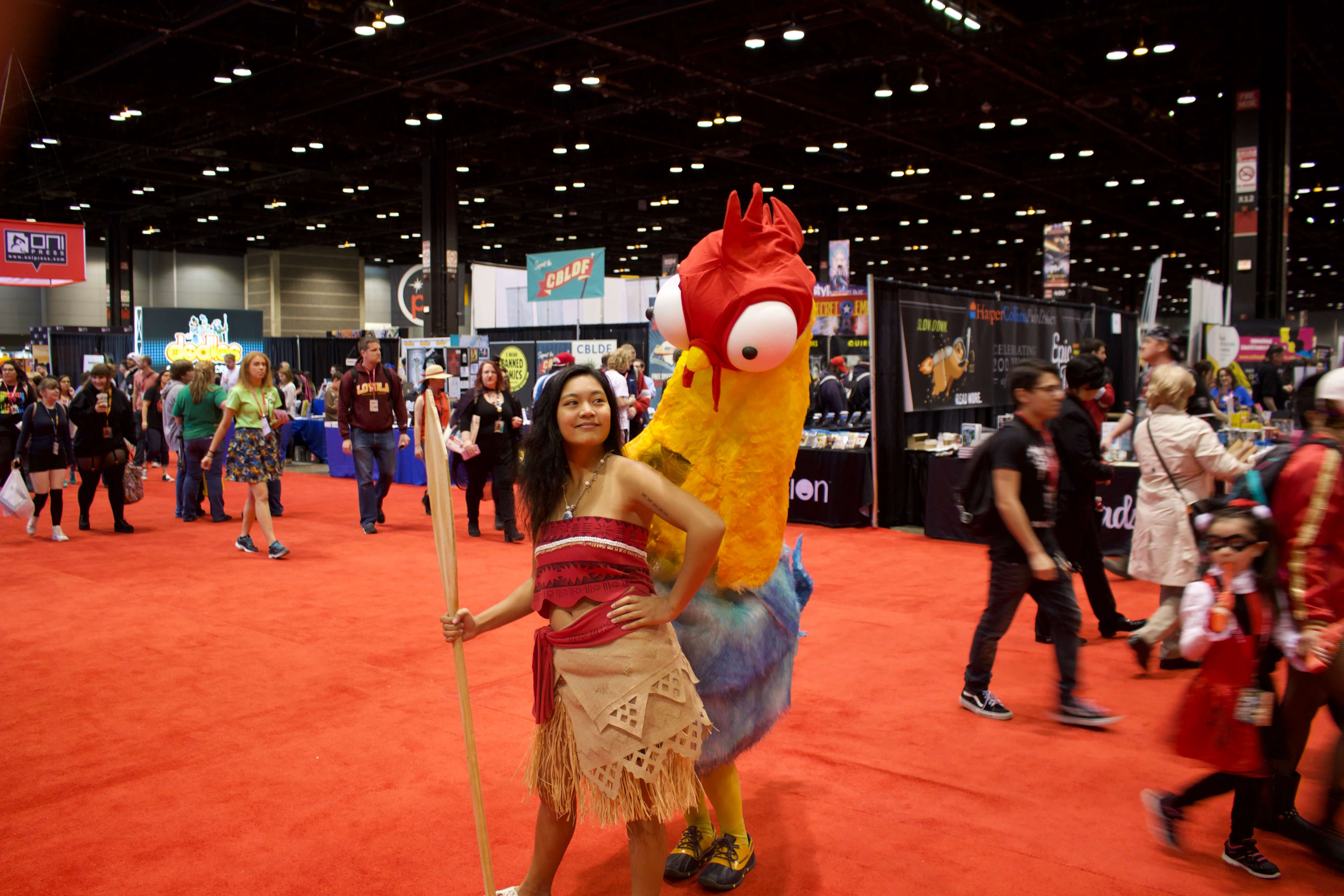 Moana and Chicken