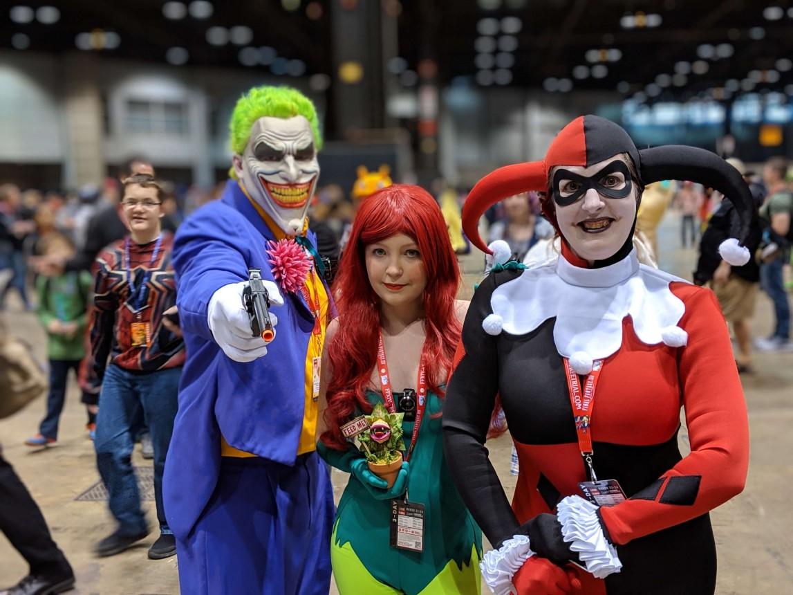 Joker Harley Poison Ivy