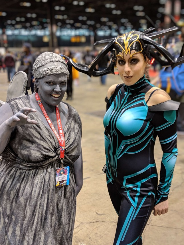 Weeping Angel And Hela