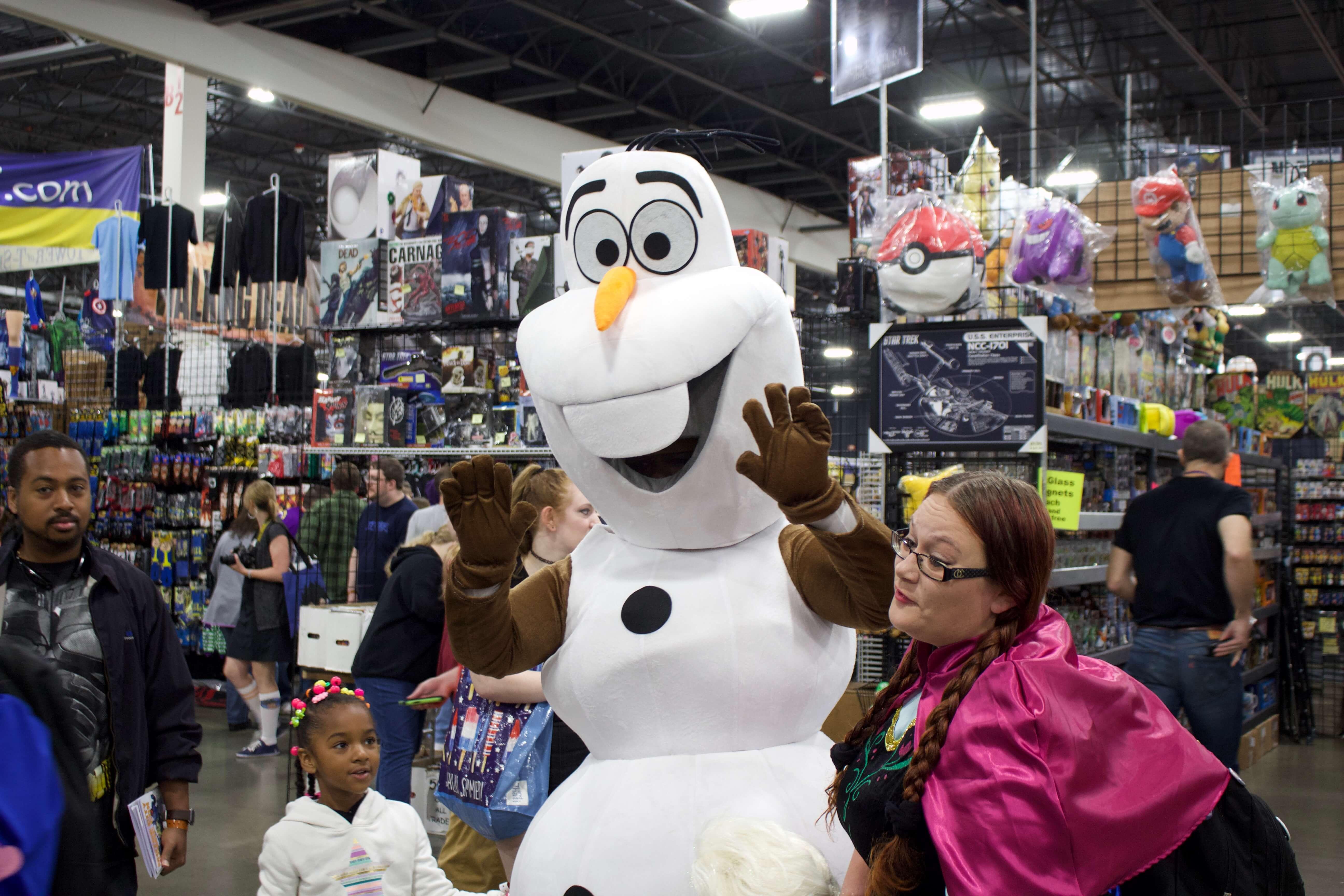Friendly Olaf