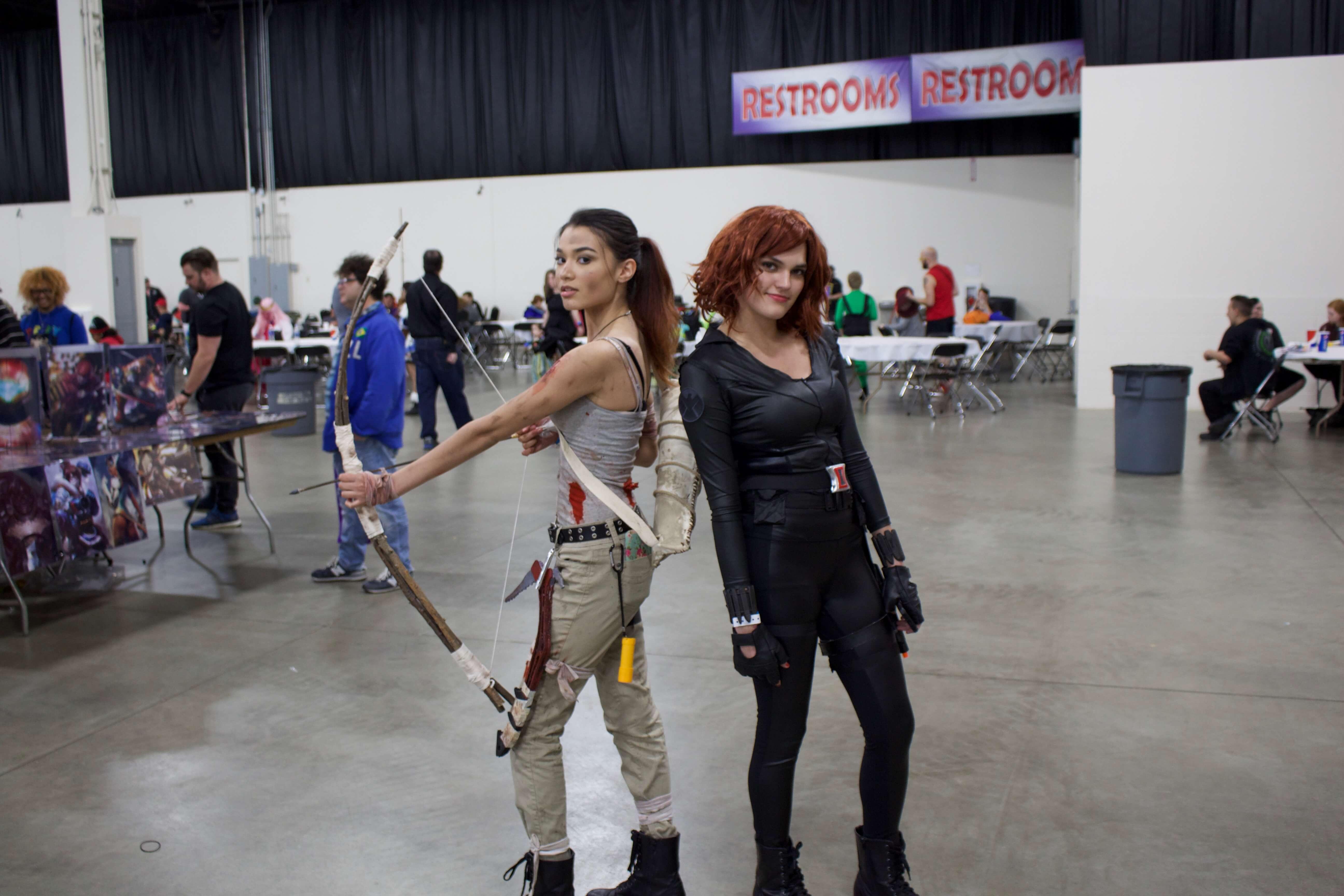 Lara and Natasha