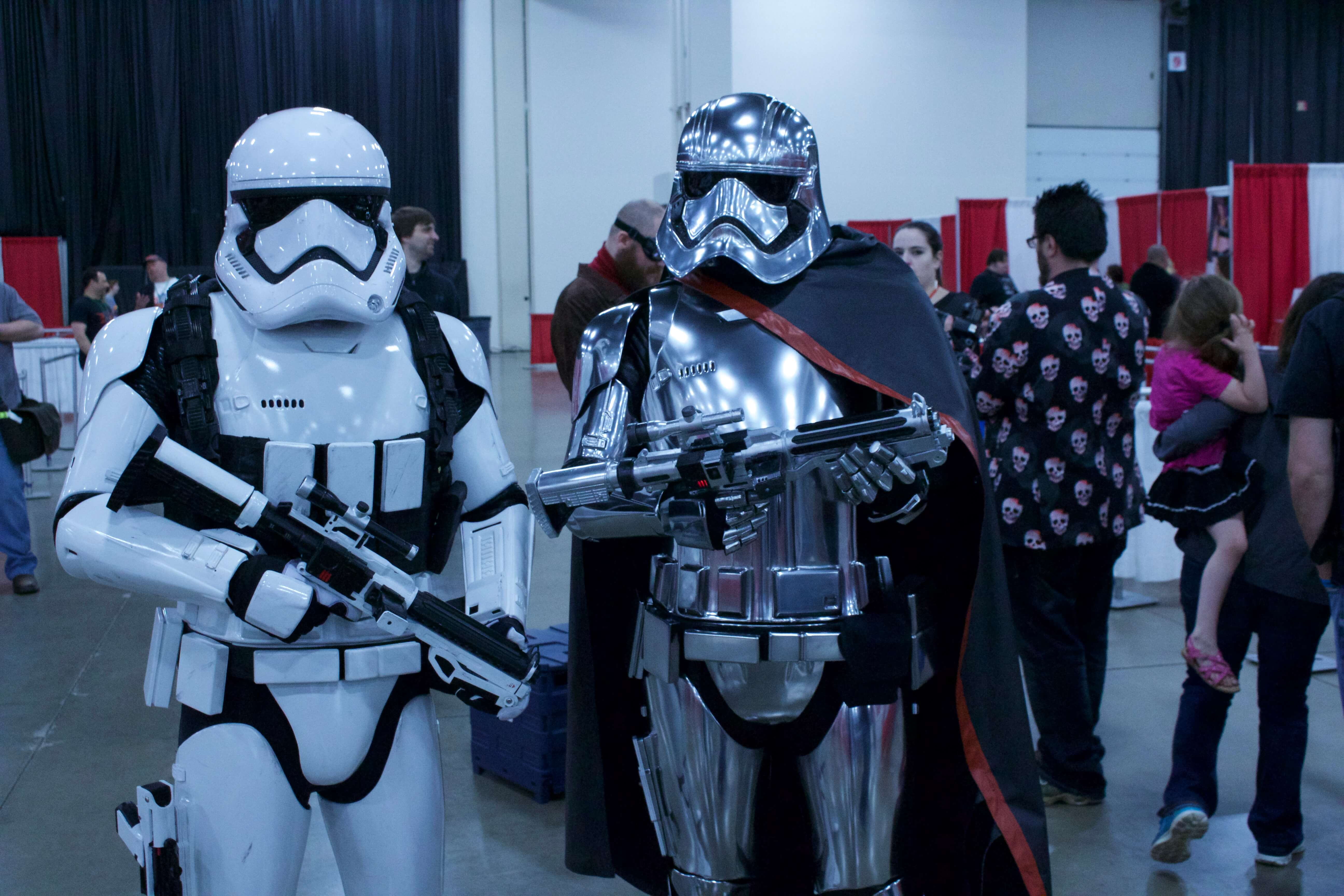 Storm Trooper And Phasma