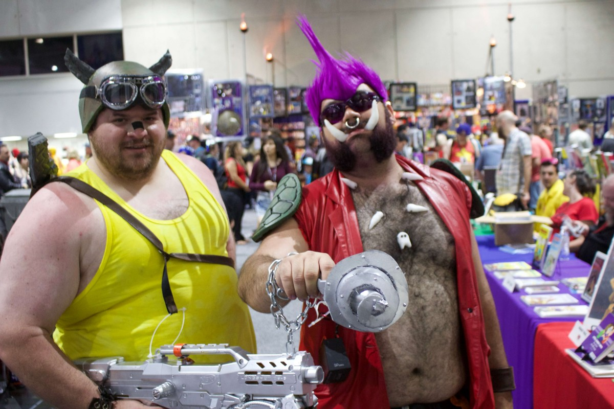 Beebop and Rocksteady