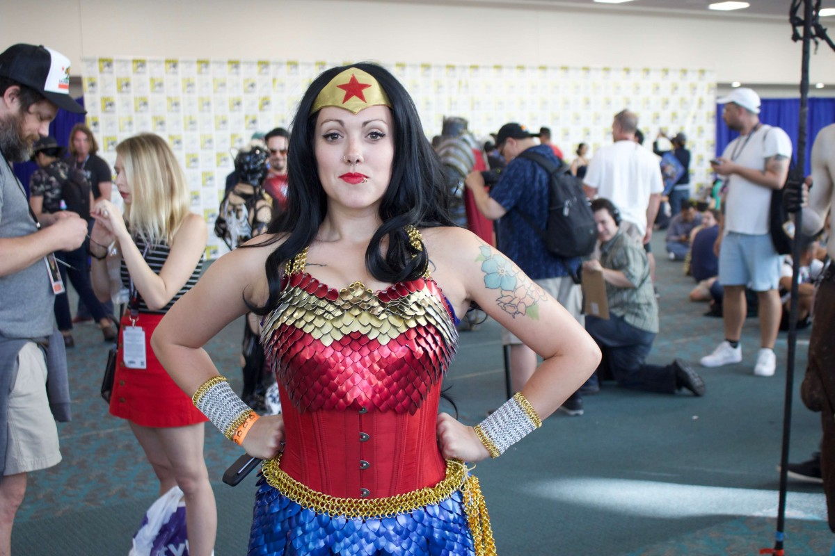 Chain Mail Wonder Woman