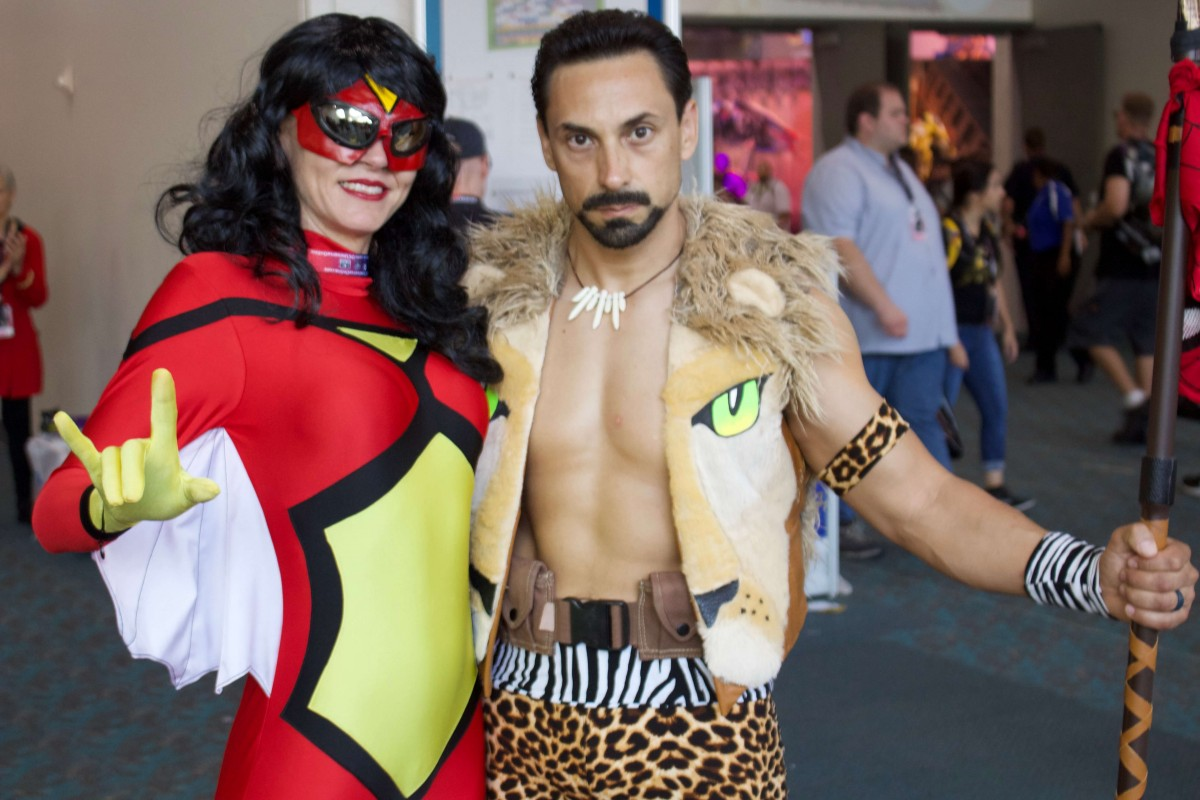 Kraven and Spider Woman