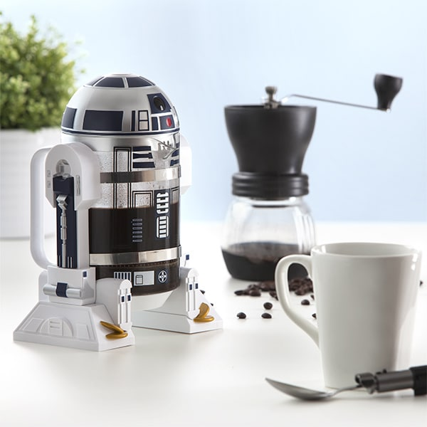 Think Geek's R2D2 Coffee Press