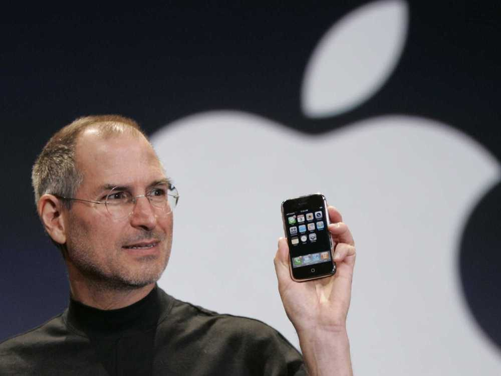Steve Jobs At 2007 Apple Keynote